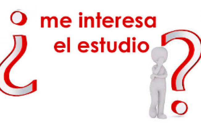 ¿ME INTERESA EL ESTUDIO?